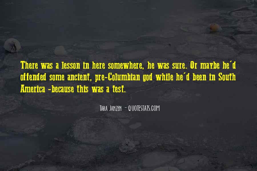 Ancient God Quotes #712238