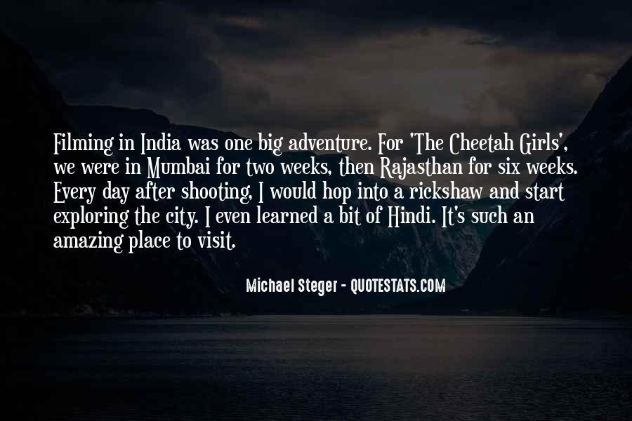 Quotes About Mumbai City #1636547