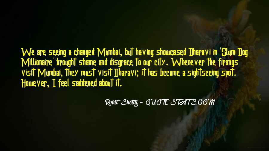Quotes About Mumbai City #1793694