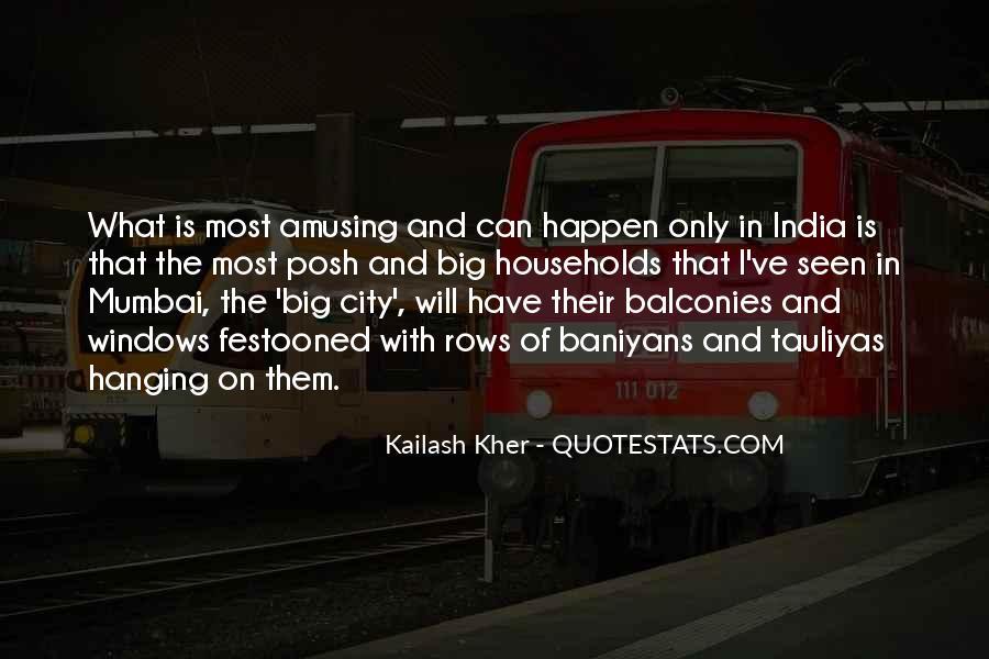Quotes About Mumbai City #24651