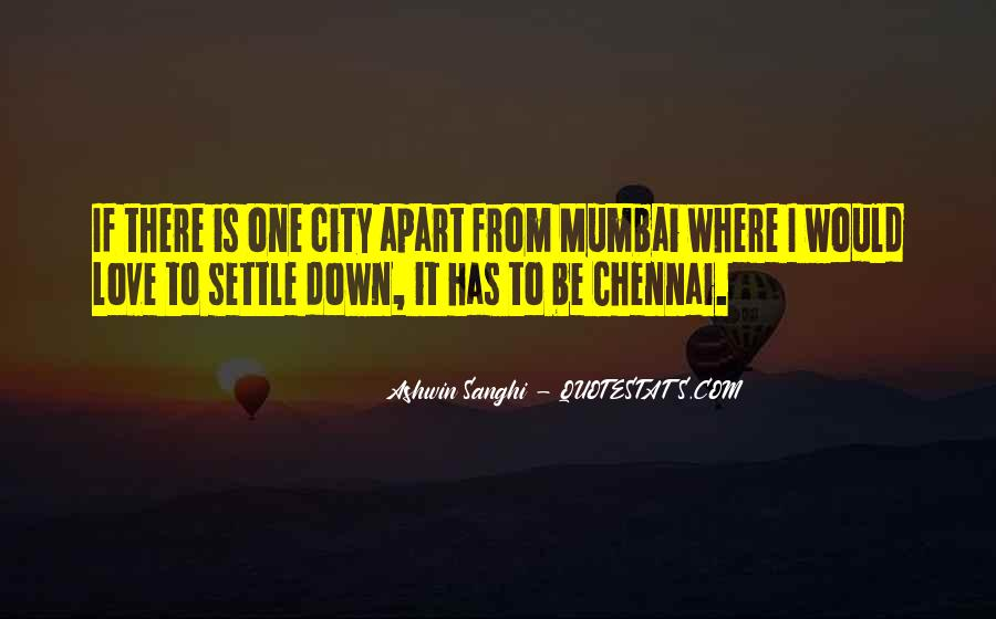 Quotes About Mumbai City #584054