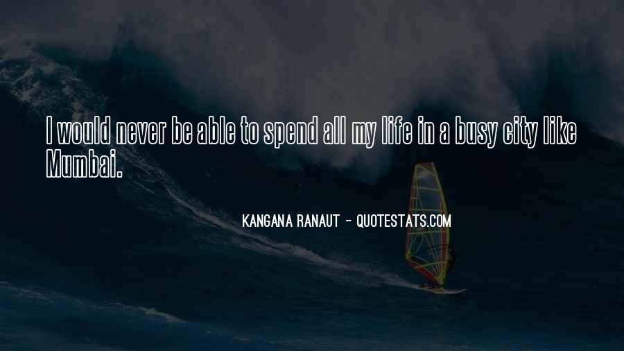 Quotes About Mumbai City #636231