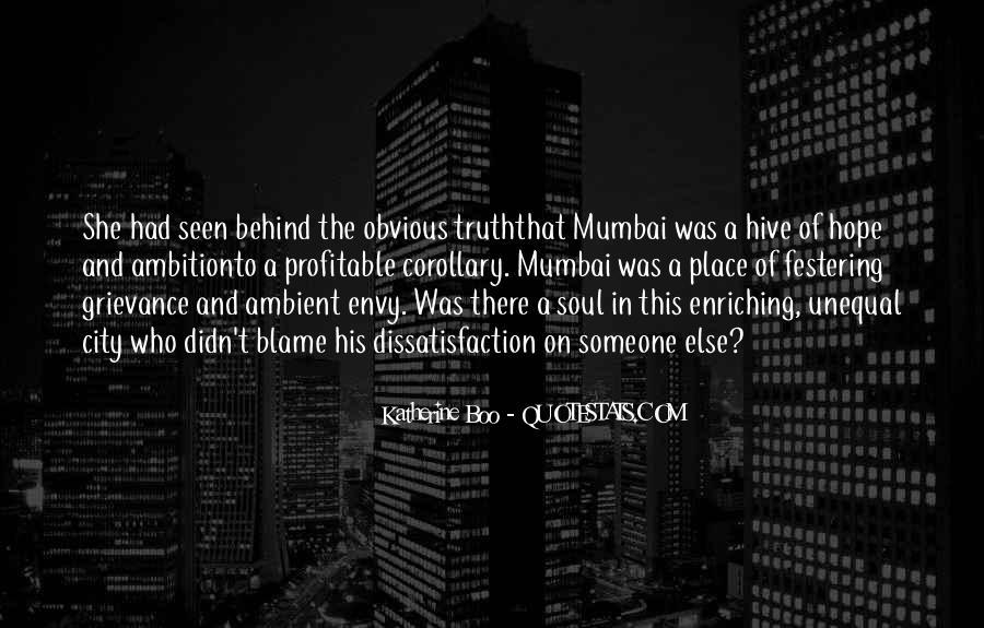 Quotes About Mumbai City #673431