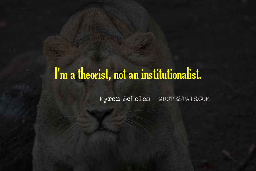 Quotes About Theorist #103785