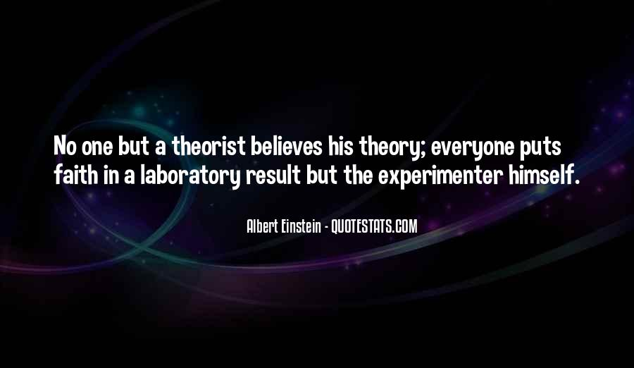 Quotes About Theorist #1092100
