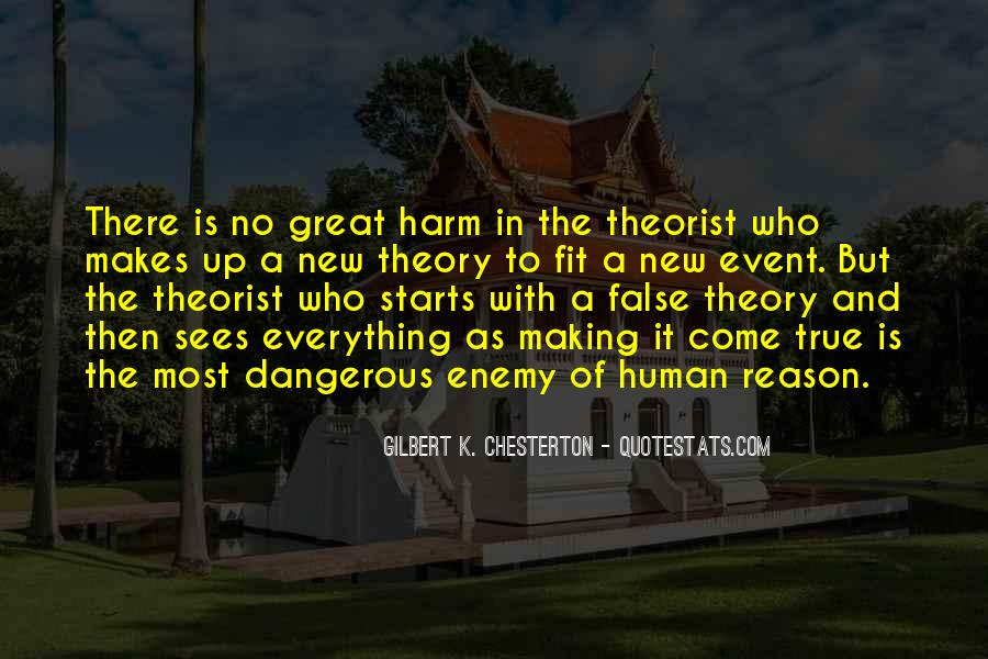 Quotes About Theorist #1148279