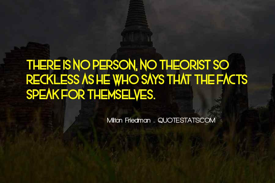 Quotes About Theorist #1412427