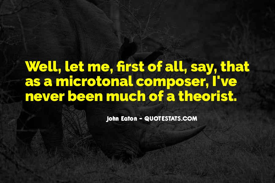 Quotes About Theorist #1620903