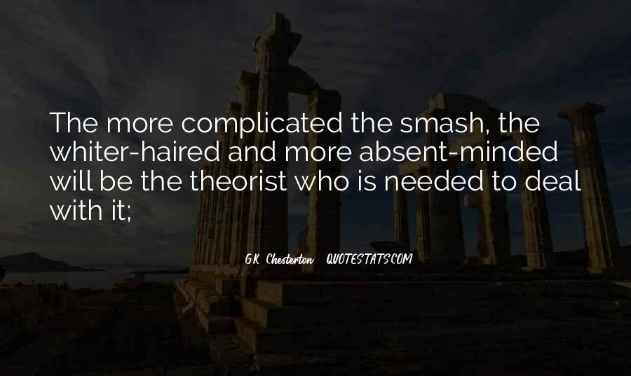 Quotes About Theorist #276892