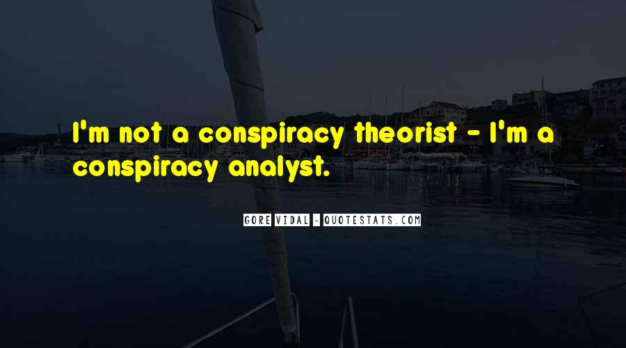 Quotes About Theorist #796169