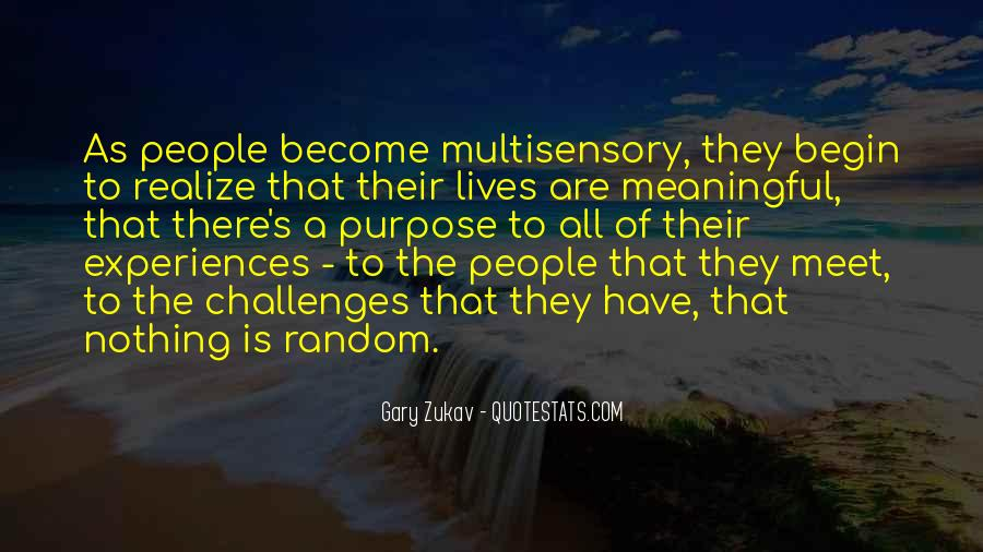 Quotes About Multisensory #688972