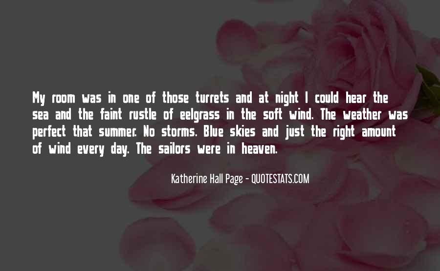 And Then There Were None Weather Quotes #20266