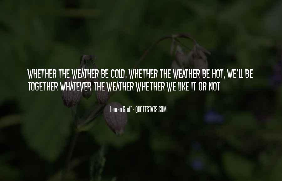 And Then There Were None Weather Quotes #5888