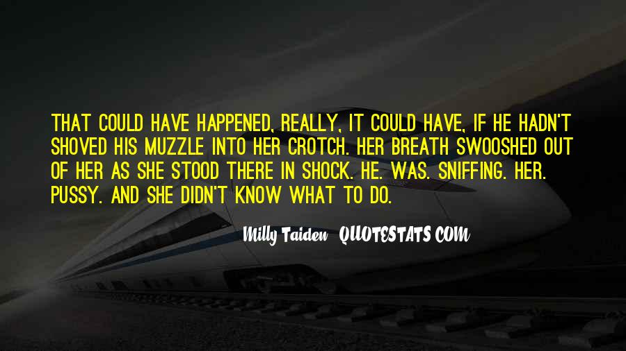 And There She Stood Quotes #1282388