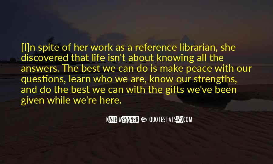 And While We Are Here Quotes #1422274