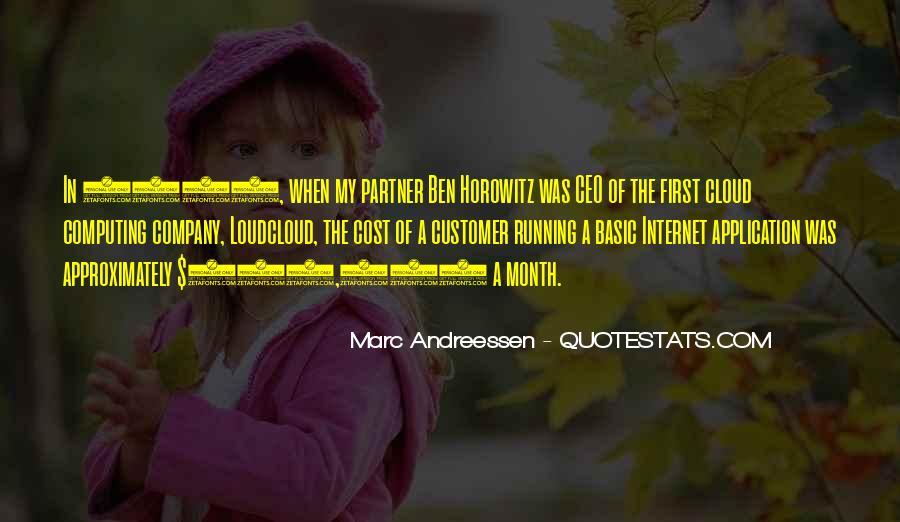 Andreessen Horowitz Quotes #495371