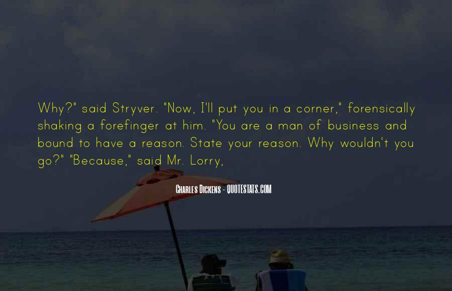 Quotes About Mr Stryver #1381814