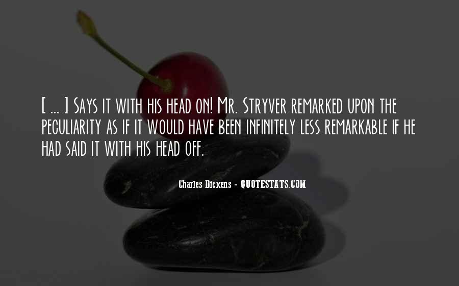 Quotes About Mr Stryver #372403