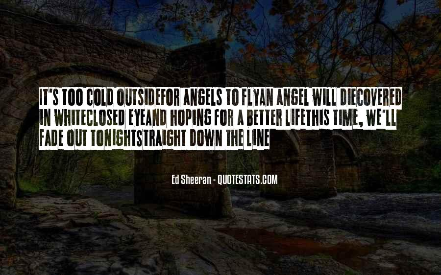 Angel In Life Quotes #1096575