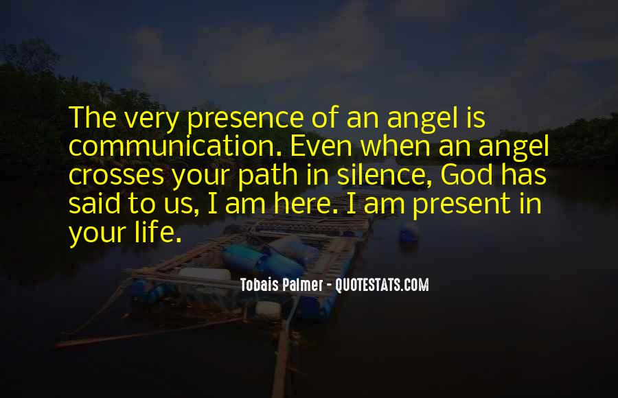 Angel In Life Quotes #1198830