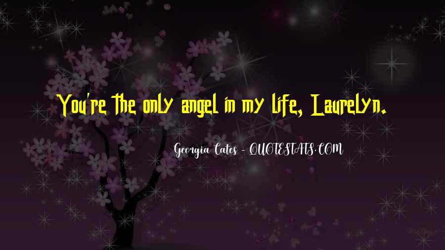 Angel In Life Quotes #1353200