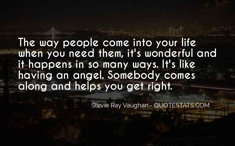 Angel In Life Quotes #1456139