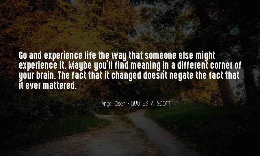 Angel In Life Quotes #1598541