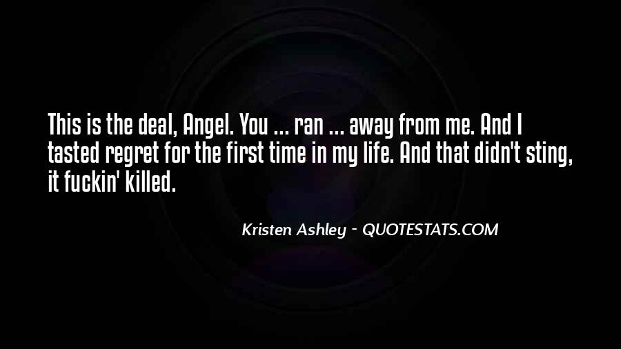 Angel In Life Quotes #1780959