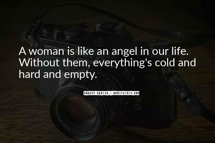 Angel In Life Quotes #201397
