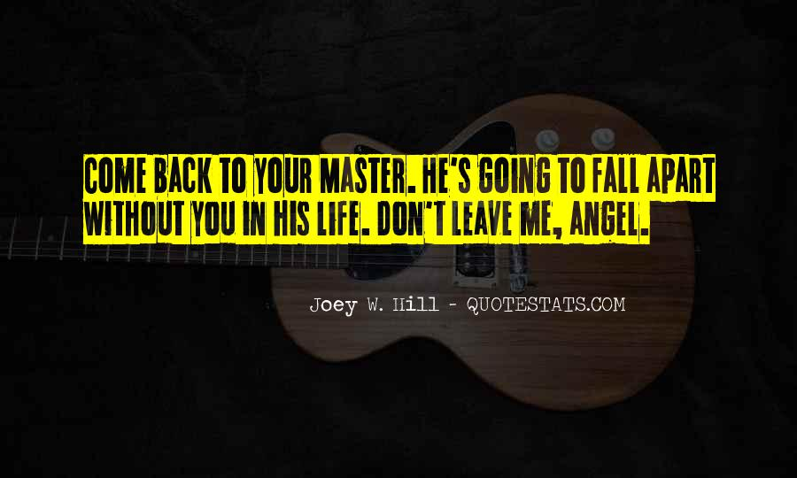 Angel In Life Quotes #289942