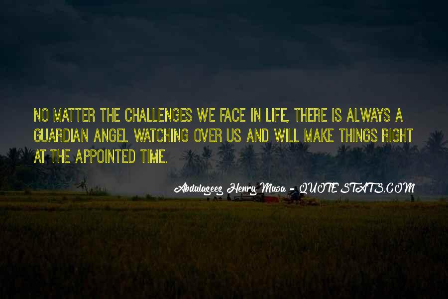Angel In Life Quotes #60532