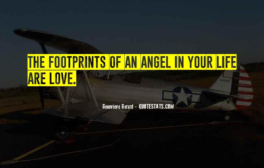 Angel In Life Quotes #888664