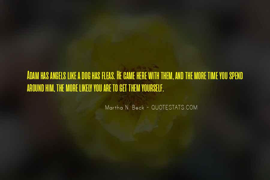 Angels Around Me Quotes #1128156