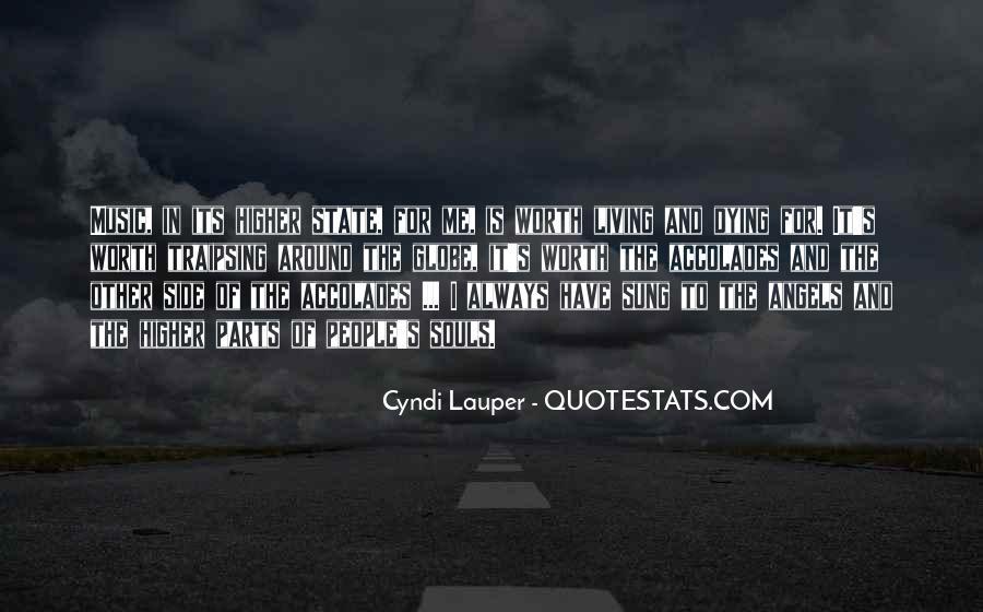 Angels Around Me Quotes #276837
