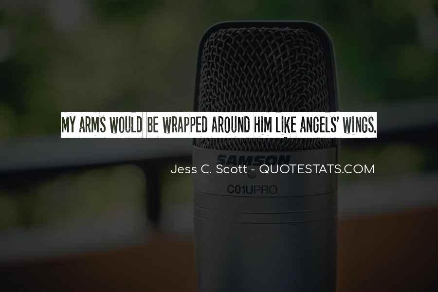 Angels Around Me Quotes #37177