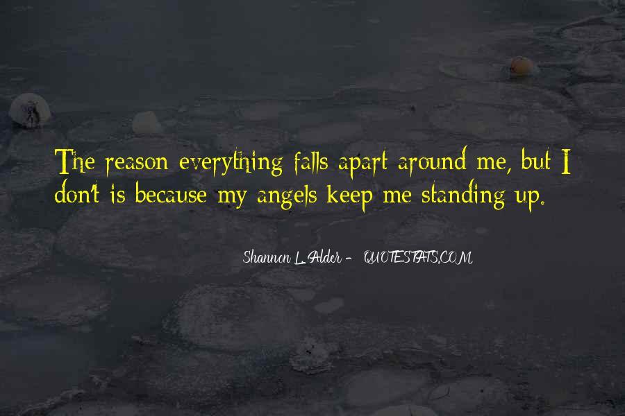 Angels Around Me Quotes #470416