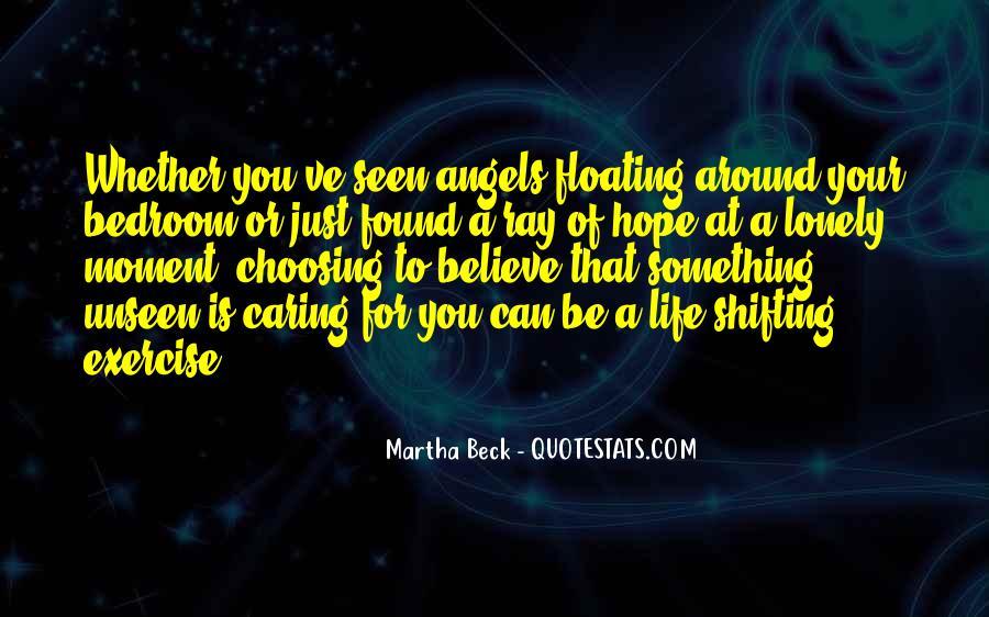 Angels Around Me Quotes #670456