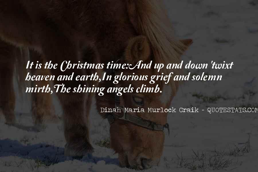Angels In Heaven Christmas Quotes #598461