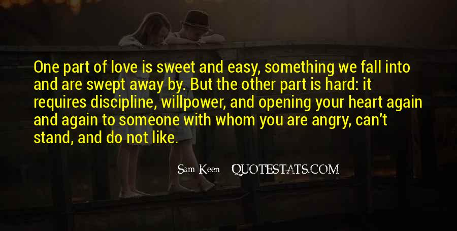 Angry But Love You Quotes #1343815
