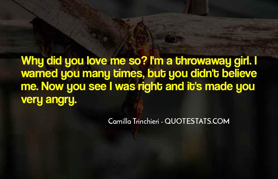 Angry But Love You Quotes #433481