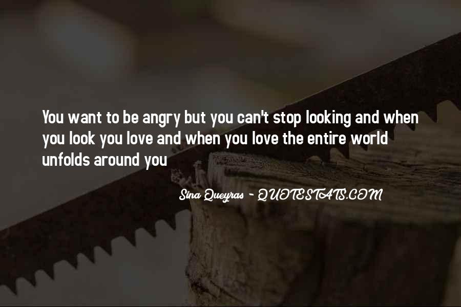 Angry But Love You Quotes #670844