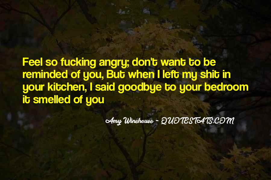 Angry But Love You Quotes #951115