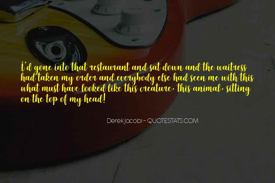Animal Head Quotes #1296799