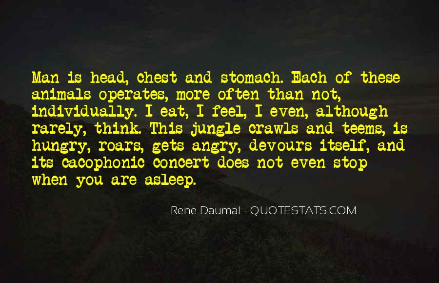 Animal Head Quotes #1326523