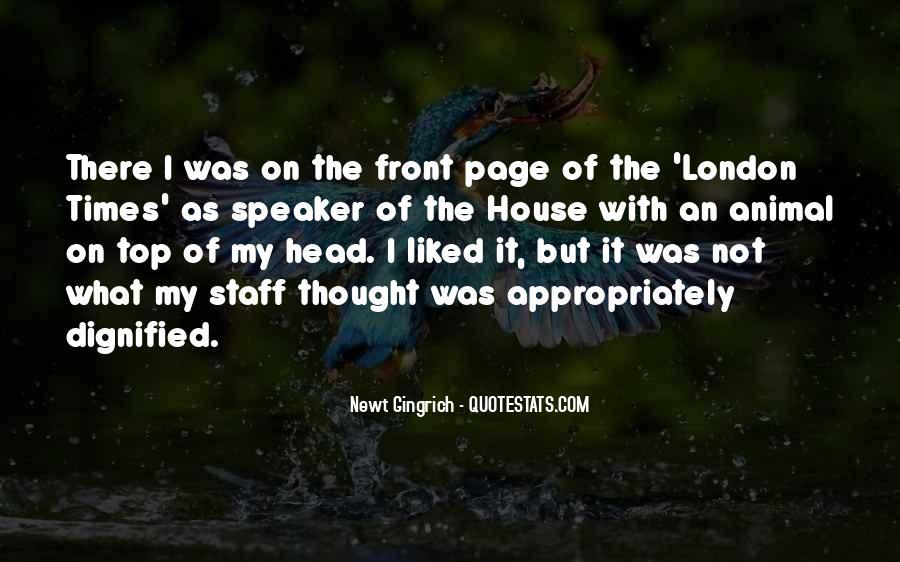 Animal Head Quotes #1584268