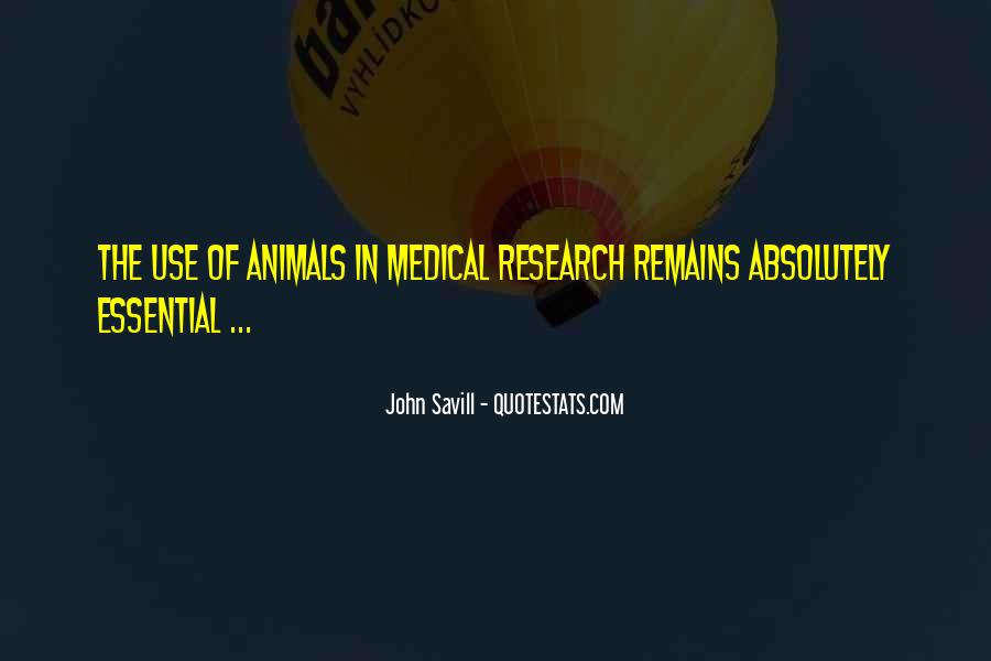 Animal Research Quotes #10849