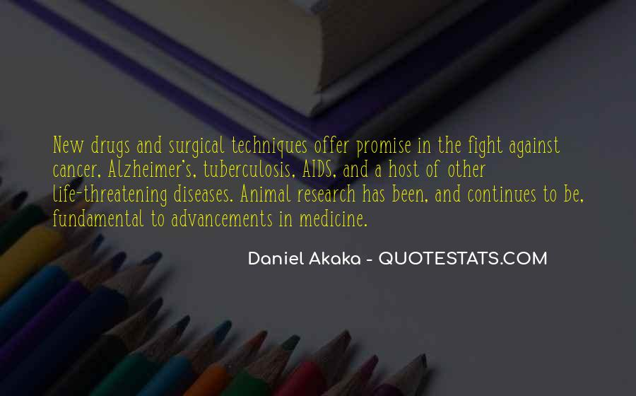 Animal Research Quotes #1414517