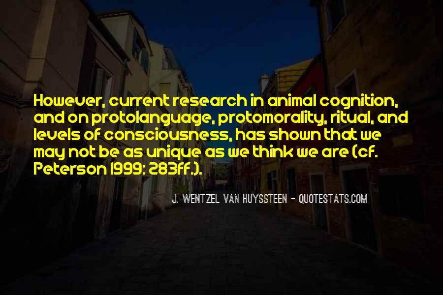 Animal Research Quotes #1428985
