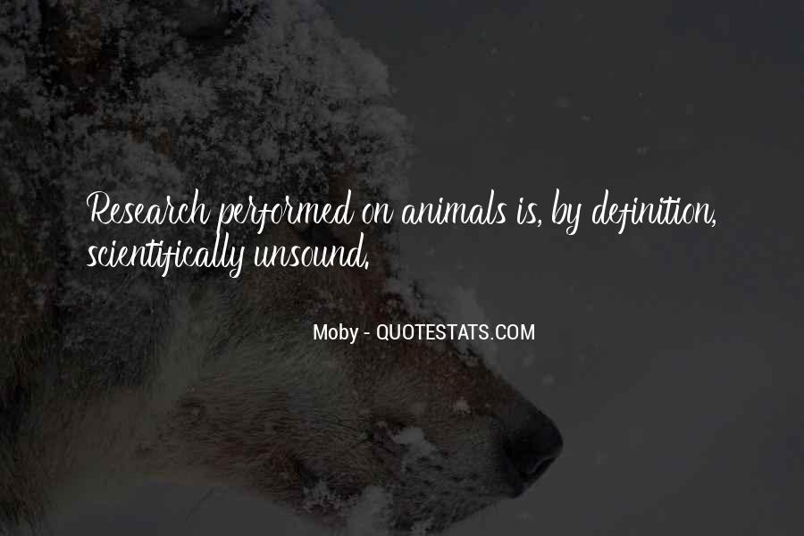 Animal Research Quotes #1708098