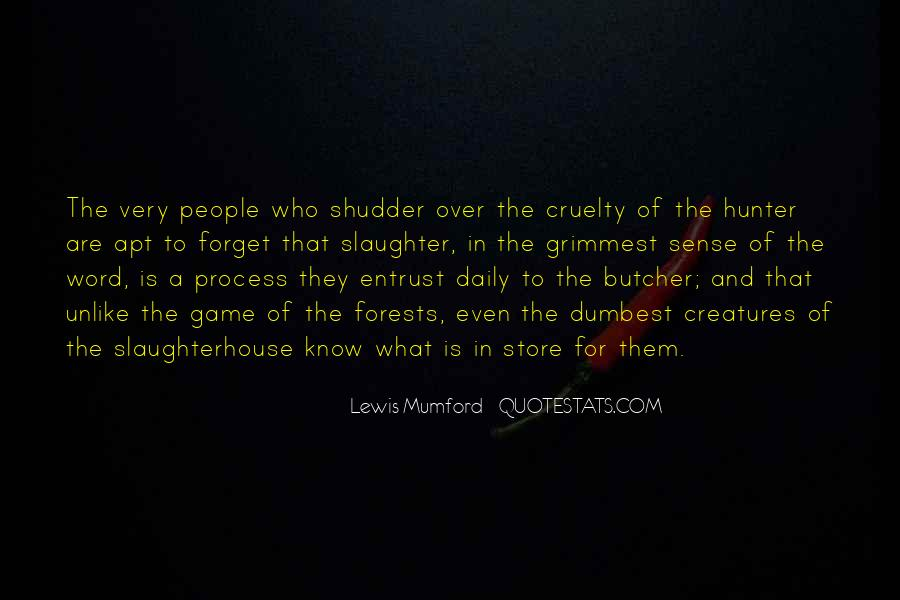 Animal Slaughterhouse Quotes #99001